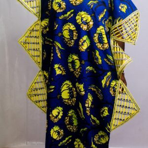 Ankara Boubou with Embroidery