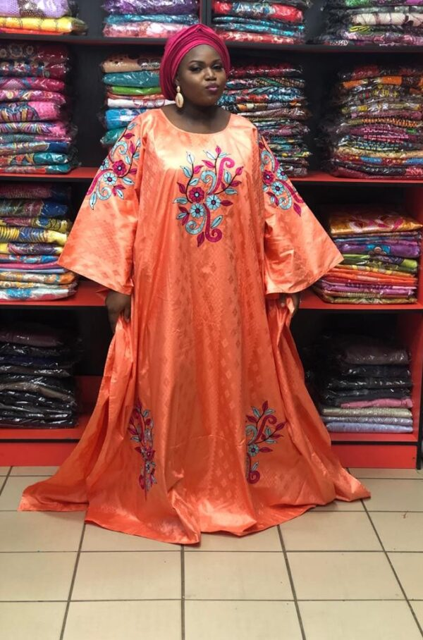 Getzner Boubou with Embroidery